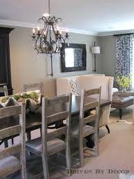 when mixing diffe types of chairs in a dining room look for end chairs that are at least as tall or preferably taller than the side chairs
