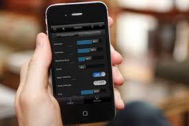 smartphone lighting control. Lighting Control Smartphone