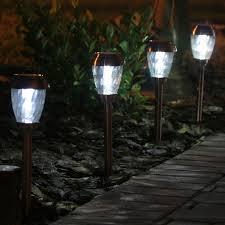 Smart Living Charleston Copper Finish Pathway Lights Smart Solar Charleston Outdoor Pathway Light 6 Piece Set In
