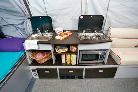 everything you need a sink a two burner cooktop a microwave