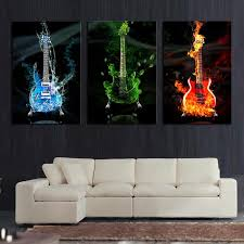 online cheap abstract the flame guitar hd wall picture home decor art print painting on canvas for living room unframed by tian7777777 dhgate com on panel wall art review with online cheap abstract the flame guitar hd wall picture home decor
