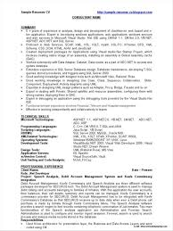 Sample Resume For Asp Net Developer Fresher Sample Resume For Aspnet Developer Fresher Resume Resume 2