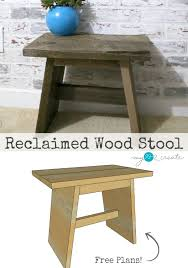 making furniture from reclaimed wood. diy plans to build your own reclaimed wood stool at mylove2create making furniture from