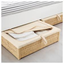 IKEA RÖMSKOG Bed Storage Box Turns The Space Under Your Bed Into A Smart  Place For