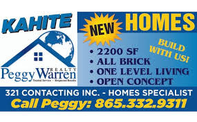 BREAKING GROUND- KAHITE NEW HOMES by Peggy Warren Realty   Owner    Principal Broker in Maryville, TN - Alignable