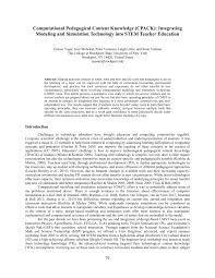 PDF) Computational Pedagogical Content ...