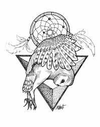 Dream Catcher Tattoo Sketch template Dreamcatcher Tattoo Template 71