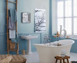 bathroom decor. Delighful Bathroom Blue And White Modern Bathroom Decor With Eclectic Bath Accessories With H