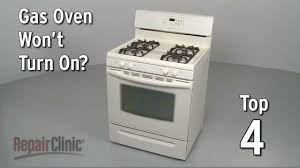 Gas Range With Gas Oven Top 4 Reasons Oven Wont Turn On Gas Range Troubleshooting Youtube