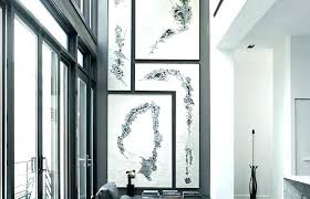 tall vertical wall decor ideas art large canvas for living room