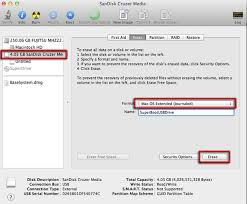 usb format osx extended lion