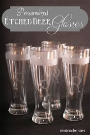 homemadegifts make personalized beer glasses at a fraction of the cost of ing them
