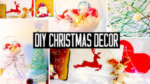 Diy Christmas Decorations Diy Christmas Room Decorations No Sew Pillow Easy Tree More