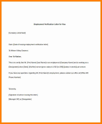 5 Employee Verification Letter This Is Charlietrotter