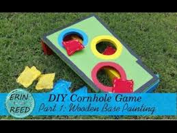 Homemade Wooden Games Homemade Cornhole Game Part 100 DIY Wooden Base LoveSummerArt 87