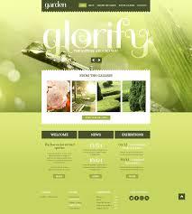 Small Picture Garden Design Responsive Website Template 44401