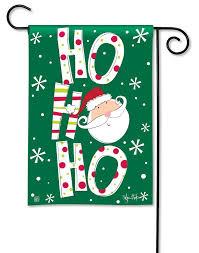 christmas garden flag.  Christmas BreezeArt Santa Says Christmas Outdoor Garden Flag Inside L