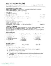 Lpn Resume Sample Fresh Sample Resume For New Graduate Best New