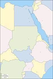نهر النيل خريطة مجانية, خريطة خاليه من الفراغ, خريطة الخطوط العريضة, خريطة  القاعدة الحرة دول, المدن الرئيسية, اللون