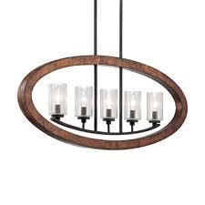 kichler lighting grand bank 5 light linear chandelier