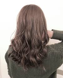 美容師オススメ2019春夏暗髪ヘアカラー暗めグレージュで透明感たっぷり