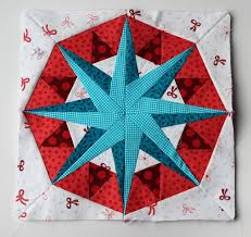 926 best ✂ Quilts - Foundation Paper Piecing images on Pinterest ... & Holiday Compass paper pieced star pattern Adamdwight.com