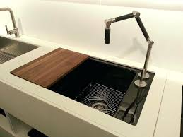 fascinating kohler kitchen sink with cutting board