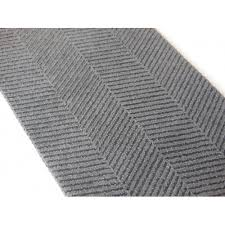 strikingly black and white chevron runner rug grey roselawnlutheran