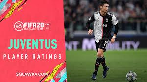 Juventus full player ratings for FIFA 20
