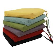 projects idea of dining chair cushions with ties 9 inside seat plan 18