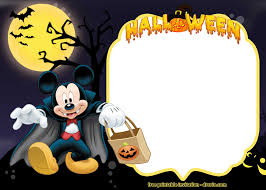 Free Halloween Birthday Invitation Templates 4 Free Disney Halloween Invitation Templates Free