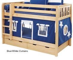 diy loft bed with curtains bunk bed tent