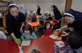 a permanent home lincoln congregation of vietnamese nuns building convent child care center