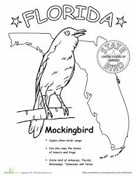 file_214226 u s state bird coloring pages education com on states worksheets