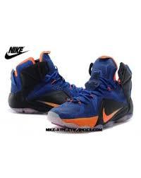 lebron james shoes 12 for kids. official lebron 12 blue black orange red james shoes-22 shoes for kids
