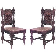 Antique asian burmese furniture