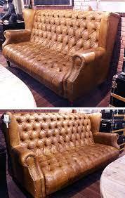 vintage leather sofa furniture