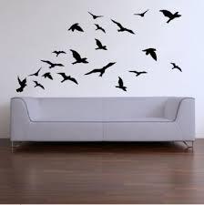 20 lifesize abstract birds vinyl decals wall art stickers on vinyl wall art stickers durban with wall decals 20 lifesize abstract birds vinyl decals wall art
