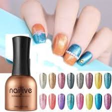 Acrylic Nails <b>Poly Gel</b> Polish No Chip French Extension Salon Use ...
