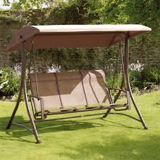 garden swing seat cushions uk. suntime havana bronze 3 seat garden swing cushions uk