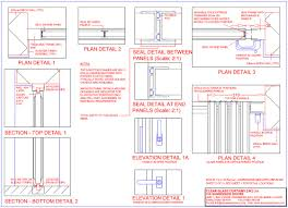 frameless door technical drawings frameless glass door