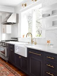 Transitional Kitchen Appliance   Transitional Medium Tone Wood Floor Kitchen  Photo In Baltimore With A Farmhouse
