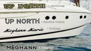 yacht fiberglass letters