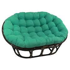 international caravan double papasan chair with micro suede cushion com