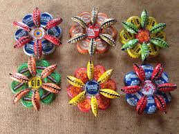 Decorated Bottle Caps Easy Recycled Christmas Decorations and Ornaments Beer bottle 20