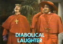Risultati immagini per nobody expects the spanish inquisition gestures