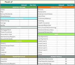 Excel Monthly Budget Spreadsheet Budgeting Spreadsheet Template Excel Monthly Budget Spreadsheet Free