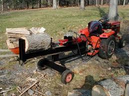 diy electric log splitter ideas