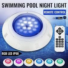 Swimming Pool Light Shock Swimming Pool Light 12v 25w Rgb Led W Remote Control Rgbplastic Spas Water Fall