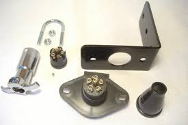 florida sidecar products sidecar parts parts sidecar wire quick connector 6 pin pole mounting bracket motorcycle